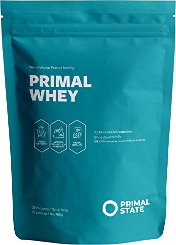 Whey Protein Neutral – 100% reines Molkeprotein aus irischer Weidehaltung – Low Carb Proteinpulver zur Erhaltung & Zunahme der Muskelmasse – 760g Molke Eiweisspulver Neutral
