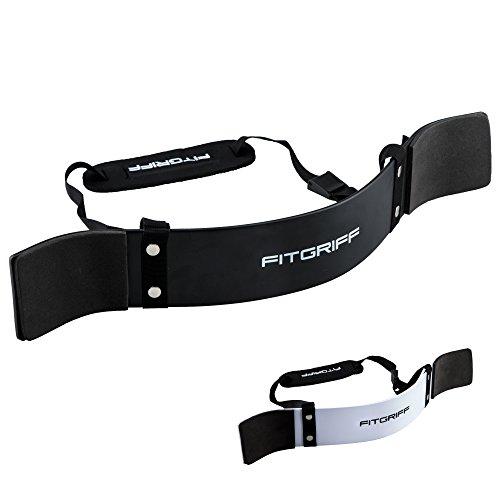 Fitgriff® Arm Blaster – Bizeps Isolator für Bodybuilding, Kraftsport & Gewichtheben – Bizepstrainer