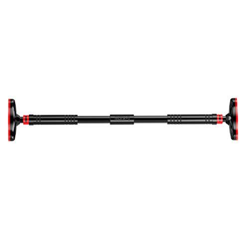 Abaodam Schlagfreie Klimmzugstange für den Oberkörper, robust, für Zuhause und Fitnessstudio, 100 – 150 cm