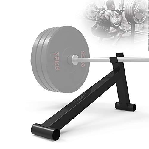 Grist CC Stahl Langhanteln Stange Ständer Für Hantelscheiben Laden Und Entladen, Tragbar Home Fitness Gewichtsscheiben Jack, Bis 300 Kg Belastbar
