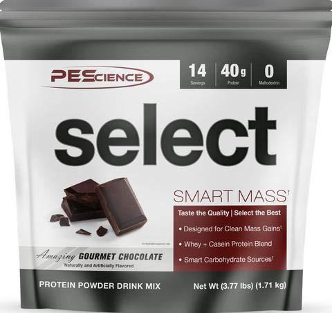 PEScience Select Smart Mass Protein Eiweiß Proteinshake Eiweißshake Muskelaufbau Fitness Bodybuilding (3360g Gourmet Chocolate – Schokolade)