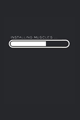 Installing Muscle: Din A5 Protein Notizbuch Installiere Muskeln Geschenk mit 120 Seiten