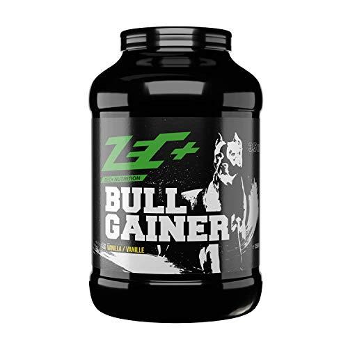 Zec+ Bullgainer – Vanille 3500 g, Protein-Pulver mit Vitaminen, Aminosäuren und Kohlenhydrathen zum Masseaufbau, Made in Germany
