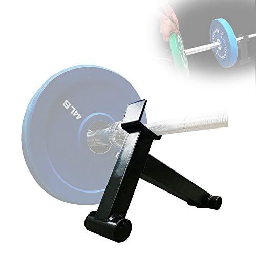 Grist CC Heim Hantel Hantelscheiben Halterung, Tragbar Langhantelstangen Jack Für Ersetzen Gewichtscheiben, Stahl, Dauerhaft