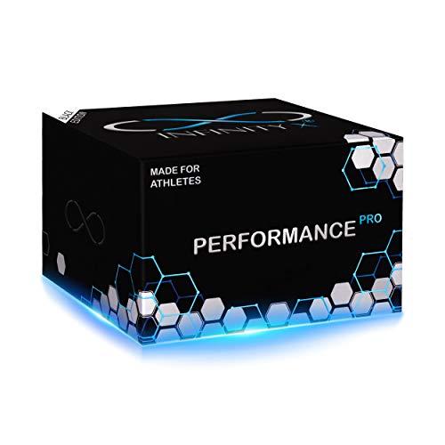 Performance Black Pro | Testosteron- & Muskelaufbau-Kur | mit Ecdysteron, ZMA+X und DAA | Hochdosiert | von INFINITY X